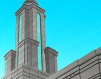 Sacramento LDS Temple Poster