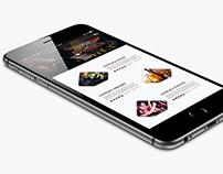 Apps Design for Restaurant