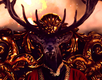 King Deertius