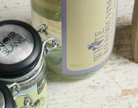 Spice Packaging: Noir et Blanc