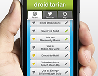 Droiditarian UI Concept