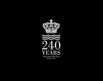 ROYAL COPENHAGEN 240 YEAR ANNIVERSARY