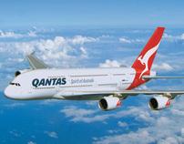 Qantas A380 Cabin Interior