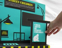 Street Children Pop up / Interactive Infographic