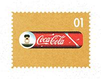 Taste Takes Flight - CocaCola Poster