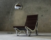 'Tenda' chaise-longue