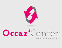 Occaz'Center - secondhand shop logo