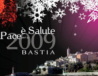 City of Bastia greetings card - 2009