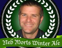 Neb Morts Winter Ale Label