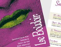 Le Boudoirs'menu