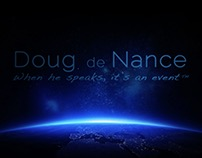 Doug de Nance Voice Over Animated Logo