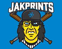 Jakprints Softball Team Mascot/Jersey Design