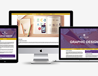 Bellevue University Graphic Design Website