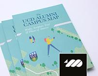 UCD campus walking map