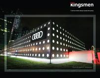 Kingsmen Magazine Ad 2010