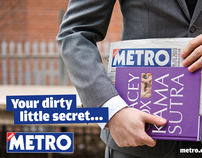 Metro Newspaper Advertising Campaign