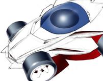 Spin Master Toys Gyro RC Car