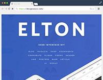 Elton Free PSD UI Kit
