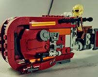 LEGO Star Wars lightbox