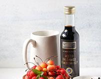Label Design for Balsamic Vinegar and Balsamic Cream