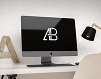 Modern iMac Pro Mockup