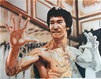 Bruce Lee - work in progress