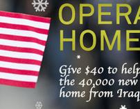 IAVA's Operation Homecoming: Header