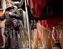 no pants subway ride 2012 - warsaw