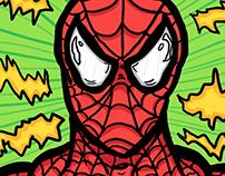 Spider-Man Portrait Speed Drawing!