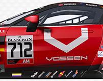 Aston Martin Vantage GT3 2019 Vossen Wheels #712