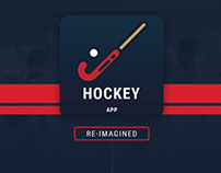 Hockey Team App - Reimagined