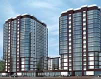 Разработка концепции жилого комплекса, Московская обл.