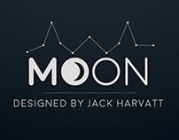 MOON FONT BY JACK  HARVATT