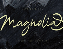 Magnolia Calligraphy Fonts