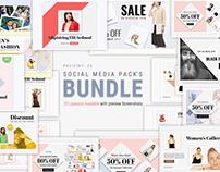 Social Media Pack's Bundle For Facebook, Instagram