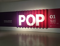 TIFF POP Series Exhibition Summer, 2016
