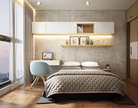 Apartment 2 bedrooms_Vinhome Central Park