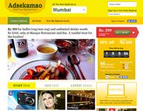Adsekamao Web Design Concept Mocks