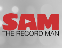 Sam the Record Man - Design Web