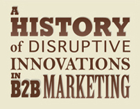 Eloqua x JESS3: Disruptive Innovations Infographic