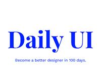 #dailyUI