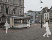 Market kiosks in Maastricht