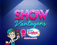 TINTAS LIDER - SHOW DE VANTAGENS