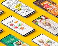 Novelle - social media - posty rysunkowe i kolaże
