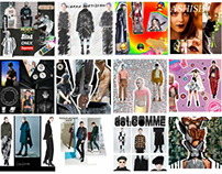 Social media collages for fashion blog DATLOOK