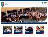 Diseño de sitio web - Instituto Dr. Manuel Lucero