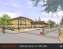 San Leandro Senior Center - Group 4 Architecture