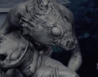 Creature sculpts