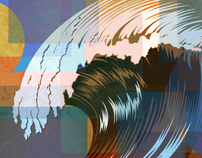 Waves 01- Vector Stock Art from TheVectorLab