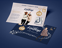 Store Twenty One - Christmas Jumper Promotion Concept